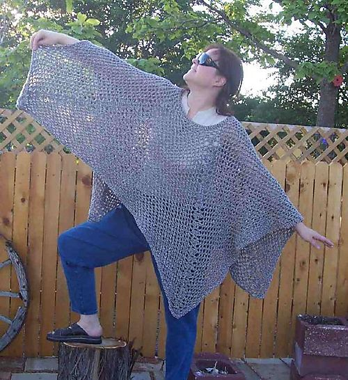 Free Childs Poncho Pattern