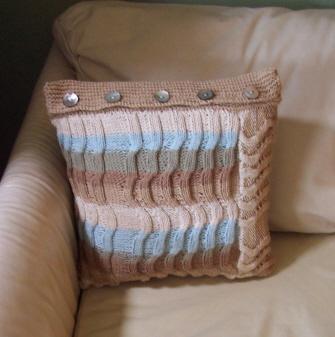 Beachcombing Pillow
