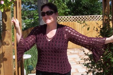Tahki Bell Sleeve Pullover