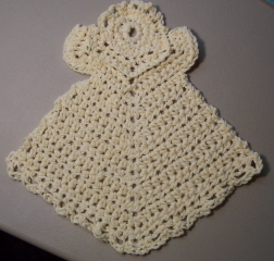 Crochet Pattern Central Angels : ANGEL CROCHET DISHCLOTH PATTERN Crochet Patterns
